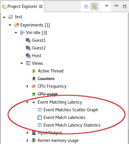 Event Matching Latency Analysis